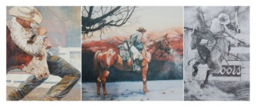 art on the river - cowboys
