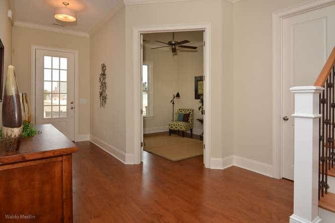Foyer in home at Saluda River Club