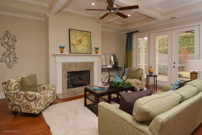Furnished family room