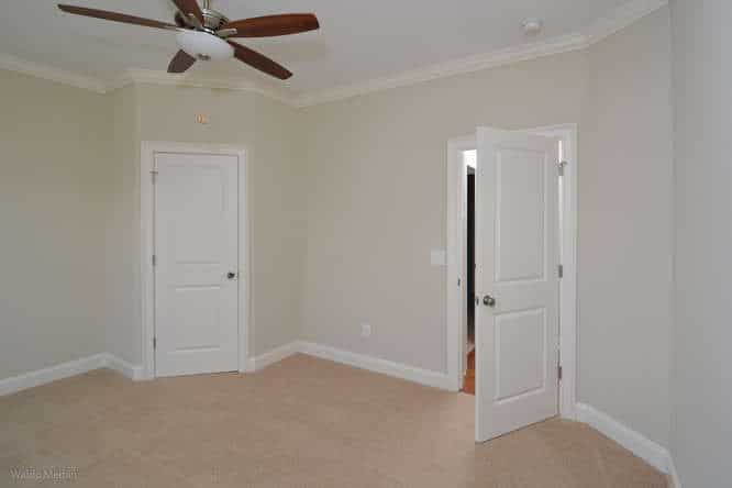 Closet and door to hallway