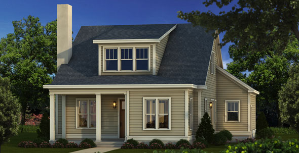New cottage home in the Woodlands District