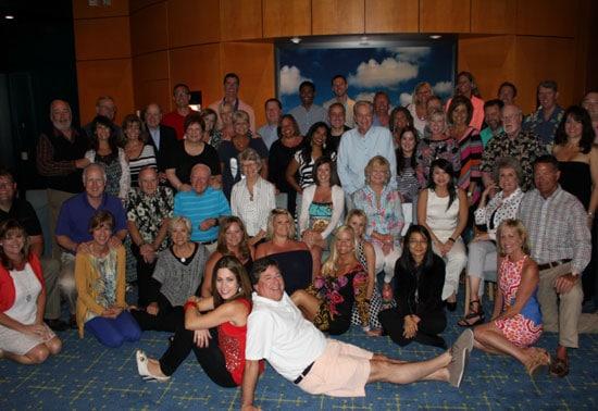 Saluda cruise group photo