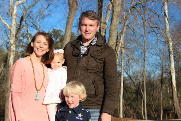 The Coxes spent Bishop's fifth birthday at the Chickawa Outdoor Center