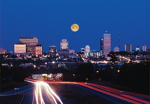 Columbia, SC skyline