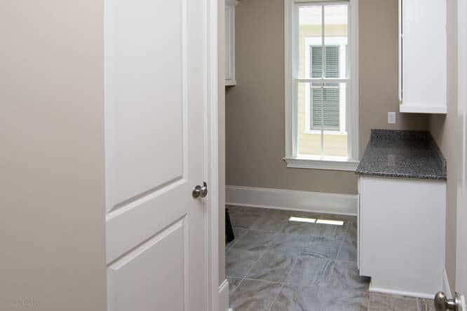 Laundry room in home