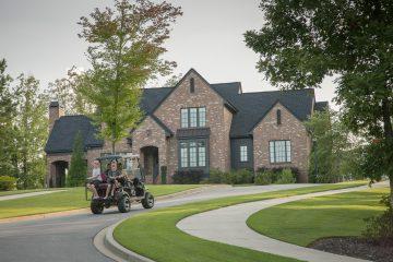SRC golf cart tour