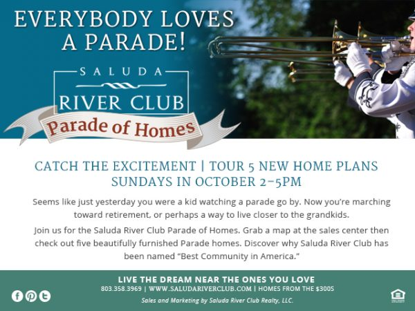 Saluda River Club Parade of Homes